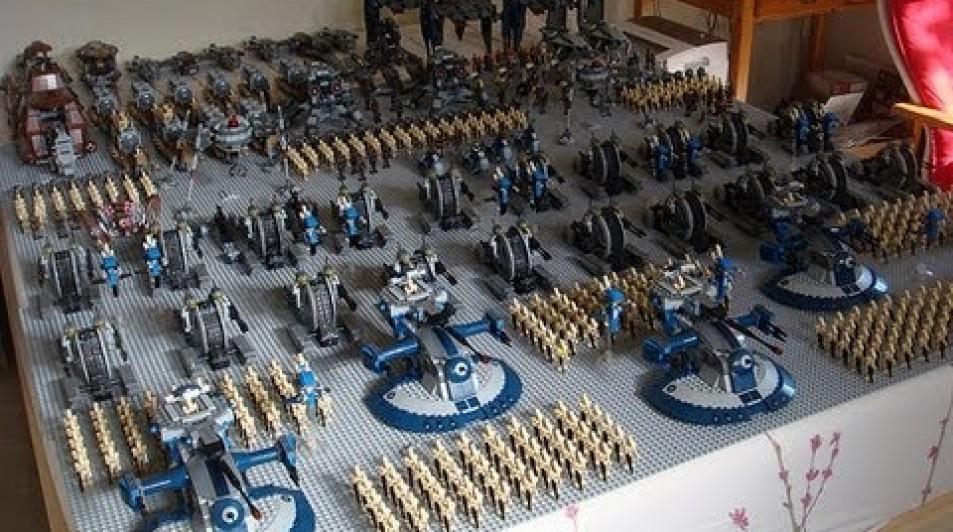 Lego Star wars Droid Army